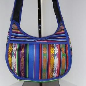 BOHO CROSSBODY HOBO MULTICOLOR bag